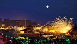 春节带家人来司徒小镇免费过红火山西年