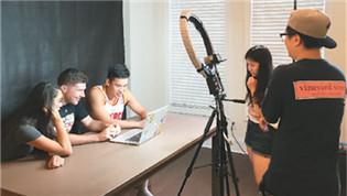 留学生自制视频走红:沟通中外文化差异