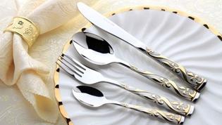 使用金银铝制作的餐具会中毒吗?