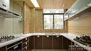 厨房橱柜,L型 、 U型、一字型,哪种更适合小户型?