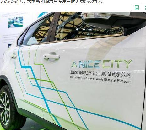 """""""新能源汽车专用车牌""""将获更多特权"""
