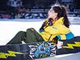 三八妇女节 做会滑雪的女神