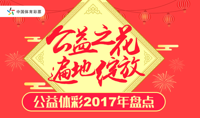 公益体彩2017年盘点