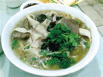 萧记三鲜烩面-河南7道小吃上榜中国金牌旅游小吃 你都吃过吗
