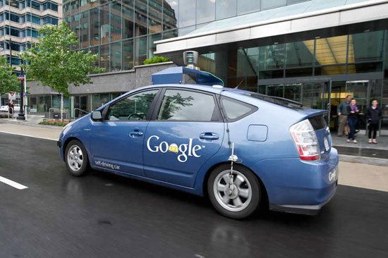 谷歌无人驾驶车 高清图片