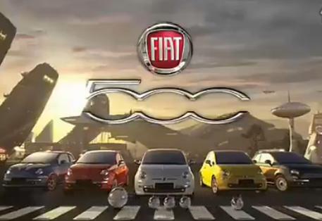 国外菲亚特500汽车广告--New Times