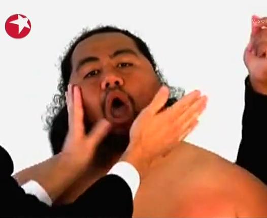 胖子变人肉架子鼓
