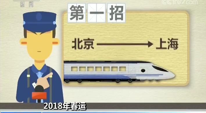 2018年春运 12306发布高铁抢票五大招