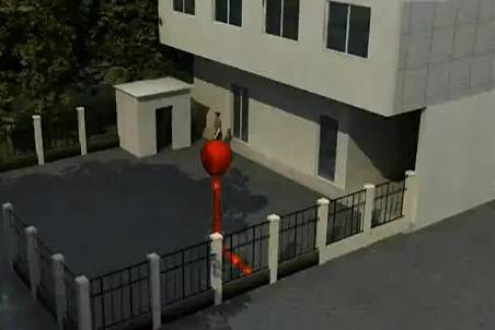 驻马店空降气球 男子被炸伤