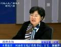 河南省文化厅厅长杨丽萍谈文化惠民政策