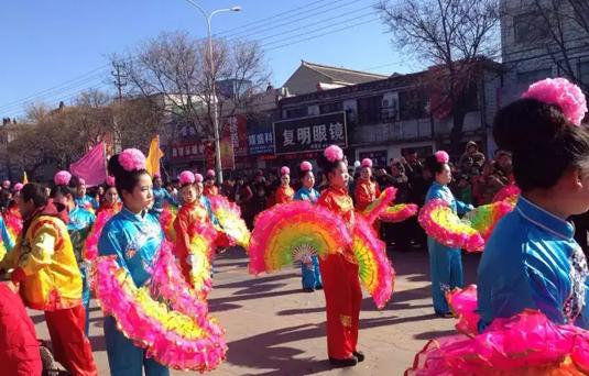 中国狂欢节 浚县正月古庙会隆重开幕