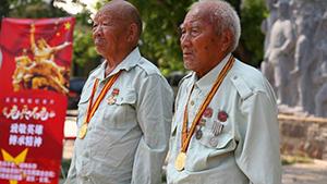 弘扬革命传统 纪录片《老兵不老》开机
