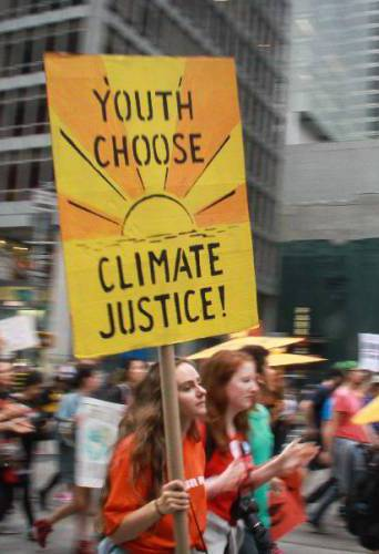 纽约民众大游行