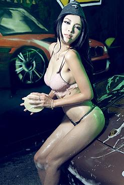 激情夏日洗车房Panamera