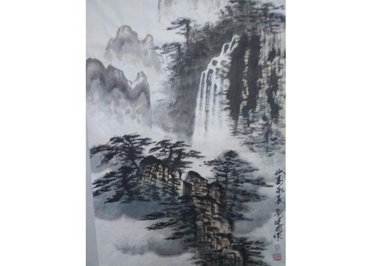 刘建国《山高水长》