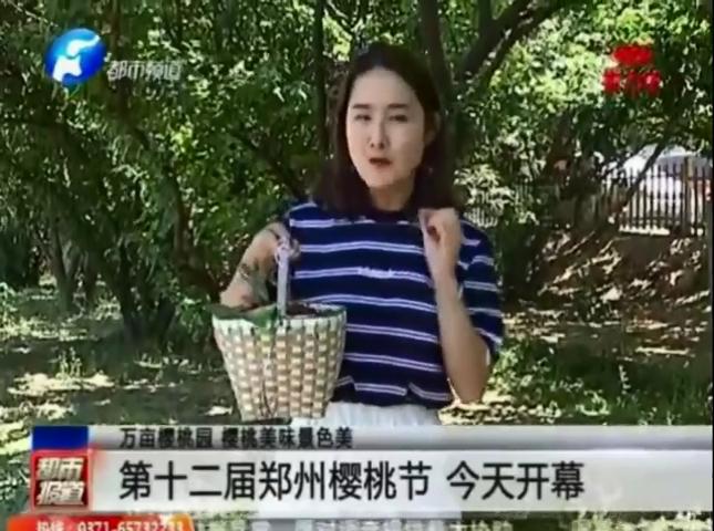 第十二届郑州樱桃节开幕